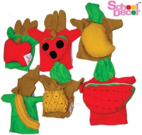 Fruit Puppet Set of 6 Pcs.