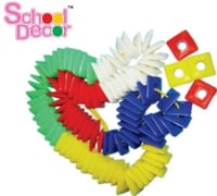 Plastic Toy Square Shape Beads