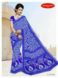 New Arrivals Cotton Sarees Wholesale Jetpur
