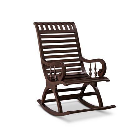 Priscana Rocking Chair Walnut