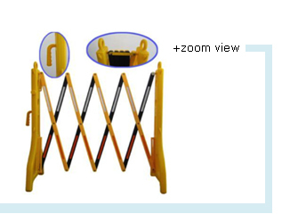 Expandable Barrier Yellow/Black
