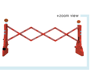 Expandable Red Barrier (Havey Duty)