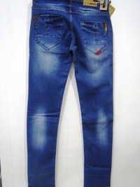 Mens Wash Jeans