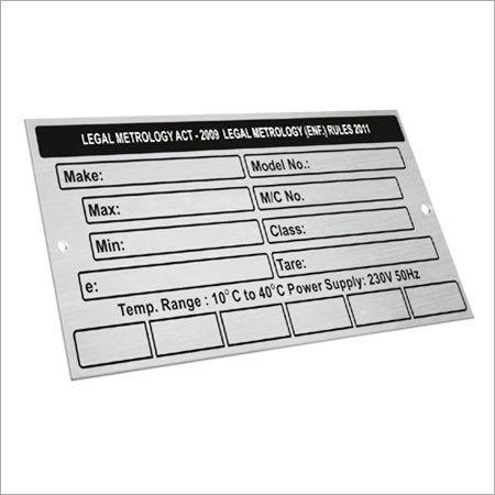 Aluminium Signage Plate
