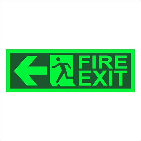 Night Glow Fire Exit Signages