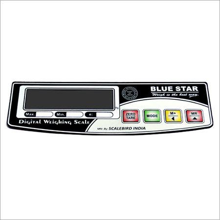 Digital Weighing Scale Sticker