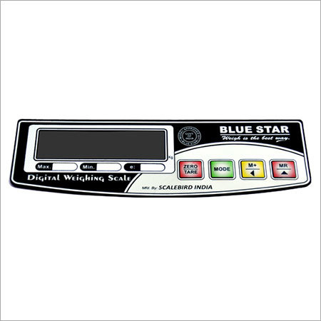Digital Weighing Scale Sticker