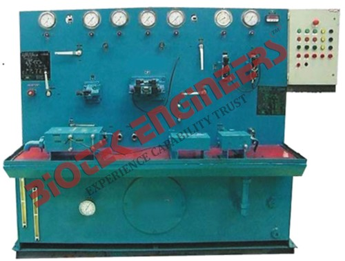 Hydraulic Test Bench
