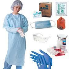 Swine Flu Protection Kit Mask