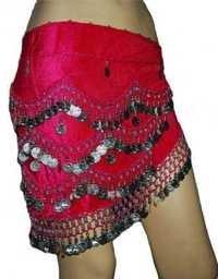 velvet & printed belle dance belt