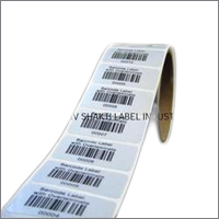 Printed Barcode Sticker Rolls