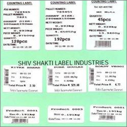 Barcode Counting Labels