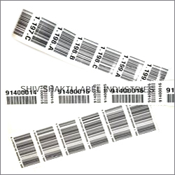 Barcode Pre Printed Labels