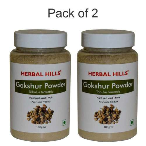 Ayurvedic Gokshur Powder 100gm (Pack of 2) for Kidney care