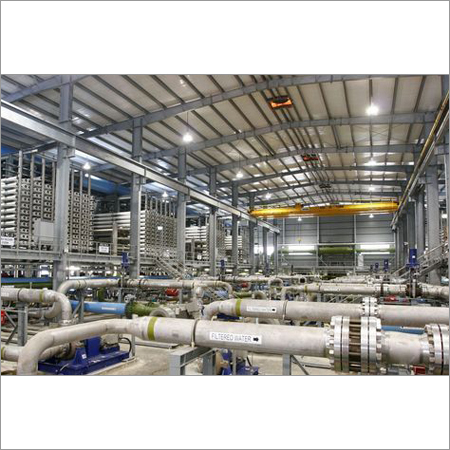 Commercial Water Treatment Plant