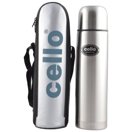 Cello Stainless Steel Flask