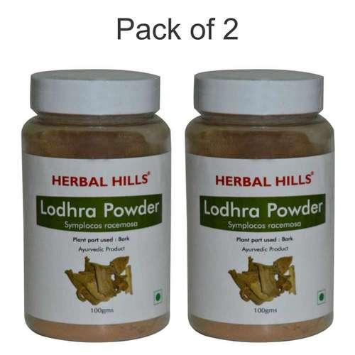 Ayurvedic Lodhra Powder 100gm for Women's health (Pack of 2)