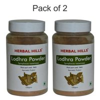 Ayurvedic Lodhra Powder 100gm for Women's health (Pack of 2)