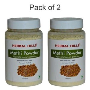 Ayuredic Methi seed Powder 100gm for Joint pain Relief & Blodd Sugar Control (Pack of 2)
