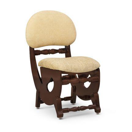 Tabatha Lobby Chair Walnut