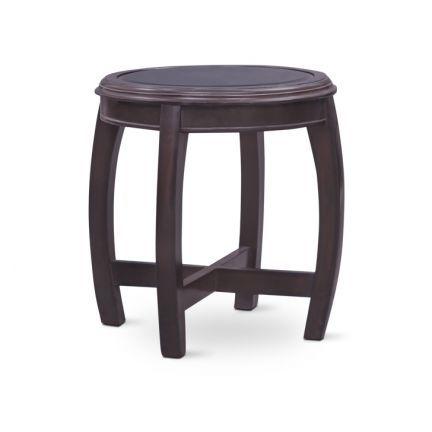 Travers Side Table Dark Walnut