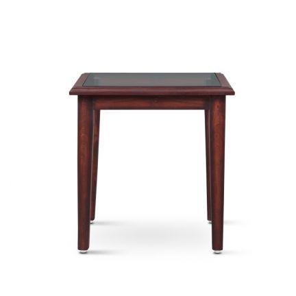 Karrie Side Table Walnut