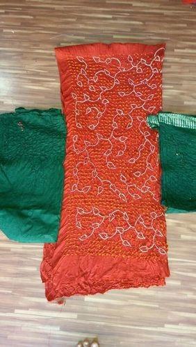 Bandhani Rai Bandhej Dress Materials