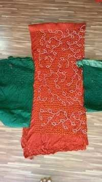 Bandhani Rai Bandhej Dress Materials