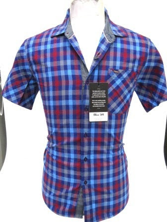 Red Blue Check Shirt