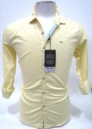 Plain Lemon Yellow Shirt