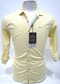 Plain Lemon Yellow Shirt