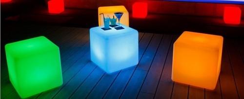Cube Cordless Lamps