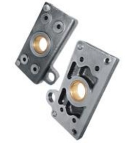 Hydraulic Pump Plate With Bush Small MF-135