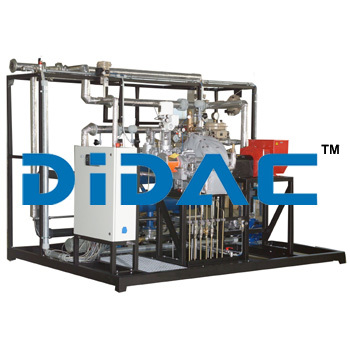 Steam Power Plant  With Process Control System