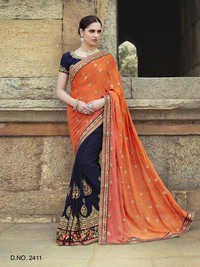 Embellished Jardoshi Work Sarees