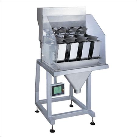 4 Head Linear Weighing Machine