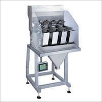 4 Head Linear Weighing Machine