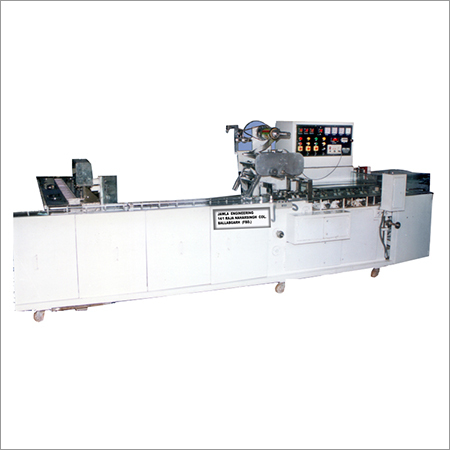 One-Edge Packaging Machine With Cream Biscuit Feeder