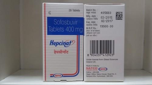 Natco Hepcinat MRP