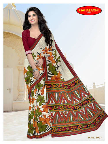 New Design Pure Cotton Sarees Wholesale