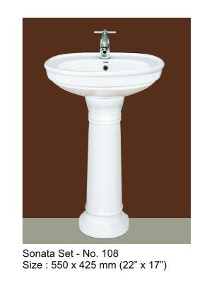 bain with Pedestal