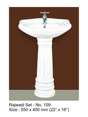 Basin and Pedestal