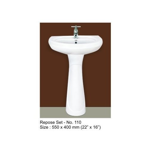 Ceramic Pedestal Basin