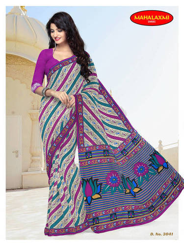 Wholesale Special Cotton Sarees Jetpur