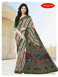 Stylish Cotton Printed Sarees