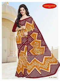 Wholesale Stylish Cotton Sarees Jetpur