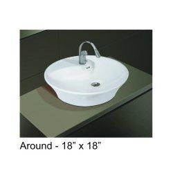 18 X 18 Wash Basin