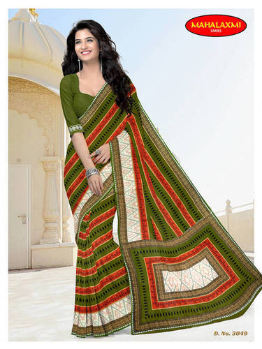 New Premimum Cotton Sarees Collection Jetpur