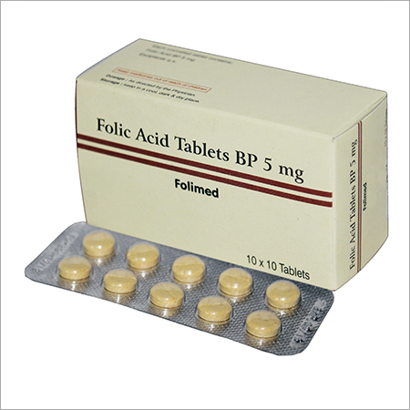 Folic Acid Tablets BP 5mg