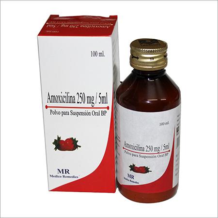 Amoxicillin 250 mg Susp